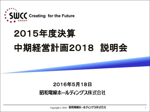 昭和電線ホールディングス株式会...